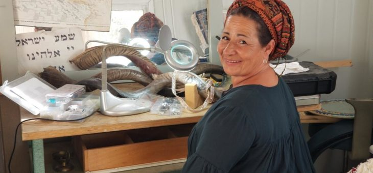 The story of Rubis's decorating the symbol of redemption – the Shofar
