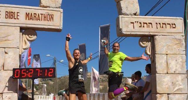Running the Original Path of the Biblical Marathon